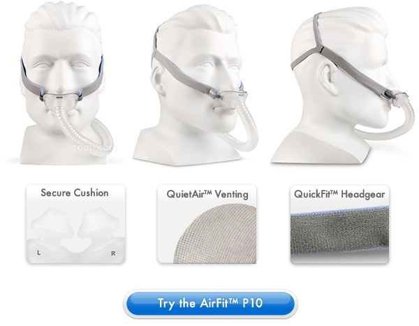 image of the airfit nasal pillow mask