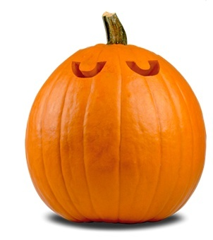 image of pumpkin with eyes