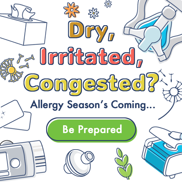 Allergy Preparadness Graphic